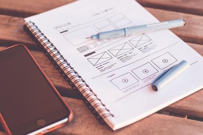 Travail refonte et design web