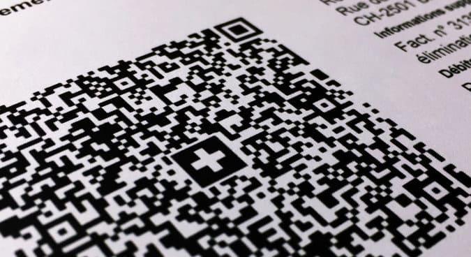 Visuel de la QR Facture en suisse