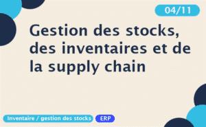 webinar Flow Line Rootstock gestion des stocks, des inventaires et de la suply chain